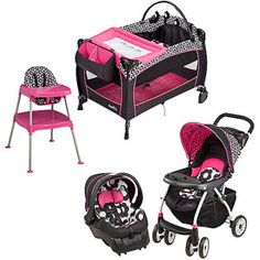 Evenflo Marianna Collection Baby Gear Bundle $280 !!!! i want this for my baby girl (if she is a girl)