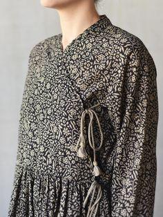 cache-coeur wrap dress