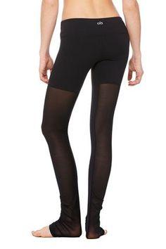63139126bd70 Alo Yoga Mesh Goddess Legging - Black Workout Leggings
