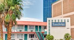 Travelodge Las Vegas Strip North Las Vegas Conveniently located in the heart of the Las Vegas strip and within walking distance to many area casinos and attractions, this hotel offers comfortable accommodations and modern amenities in an ideal location.