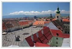 Grand Square. Sibiu. Romania Sibiu Romania, City Break, Wanderlust, Travel, Plaza Design, Viajes, Destinations, Traveling, Trips