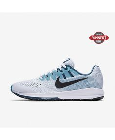 official photos c54f5 42187 Nike Air Zoom Structure 20 White Blustery Space Blue Black 849576-101  Running Shoes For