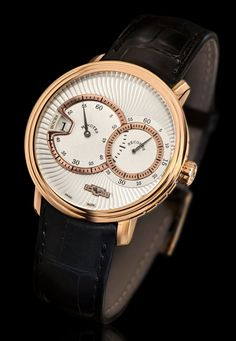 A new creation to its CLASSIC collection DeWitt the CLASSIC Jumping Hour (See more at: http://watchmobile7.com/articles/dewitt-classic-jumping-hour) (4/4) #watches #dewitt