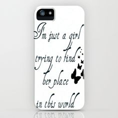just a girl iPhone & iPod Case by  Alexia Miles photography - $35.00 I want!