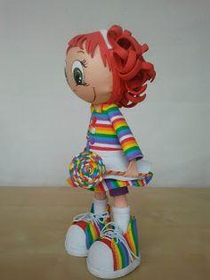 Pide Por Esa Boca: Muñeca de colores
