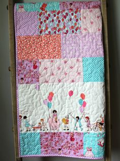 Final Payment For Trish Custom Baby Quilt Custom by GoBeWonderful