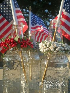 Simple and cute 4th of July centerpiece