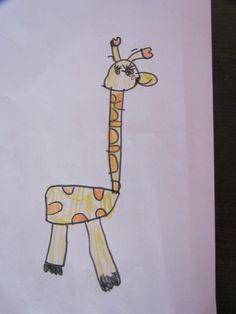 Sonia's drawing....so cute