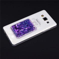 Luxury Perfume Bottle Dynamic Liquid Bling Heart Soft Cover Case for Samsung Galaxy A3 A5 A7 J1 J3 J5 J7 Grand Prime S6 S7 Edge