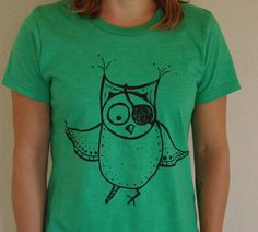 The original Feisty Owl is here to tell you that being feisty can lead to eye patches and peg legs, but it's so worth it!