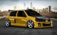 3D Tuning Renault Clio V6 Race Car