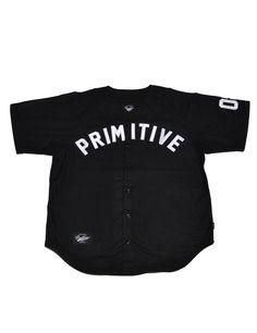 8f01fd33b Primitive Apparel  OG Team Baseball Jersey - Black