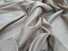 Prestige Taupe/Beige Taffeta Fabric Plain taffeta Range  - Per Metre