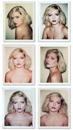 debbie harry andy warhol polaroids 1980.