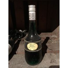 Crème Peppermint Marie Brizzard Beer Bottle, Peppermint, Spirit, Wine, Antiques, Drinks, Mint, Antiquities, Drinking
