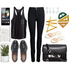 """My Look Today. #Going to university xoxo"" by kristifrommka on Polyvore"