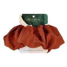 Kristin Ess Oversized Scrunchie - Rust : Target