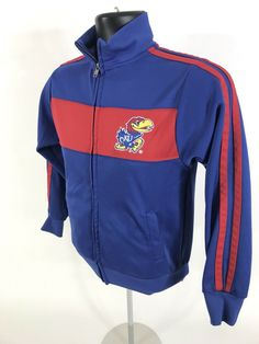 f1927f0f928 (eBay Sponsored) KU Colosseum Athletics Warm Up Jacket Youth M 8 10 Kansas  Jayhawks
