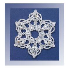 Snowflake #111 Ornament Pattern