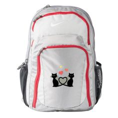Cats in Love Nike Backpack - cat cats kitten kitty pet love pussy