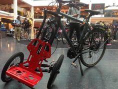PR & Gallery — TReGo, upgrade your bike Bike Design, Bicycles, Gallery, Sport, Veil, Soldering, Atelier, Bicycling, Motorcycle Design
