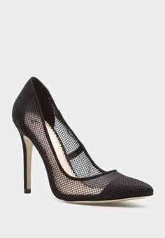 Hayley Black Heel - work attire