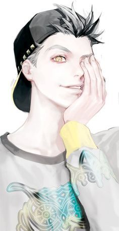 I don't know if he is from a certain anime or not, but man that face...♡