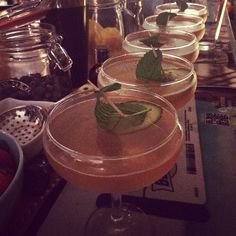 Gin garden and sunken cucumber boat :D #bringandmix #cocktails #Southampton #bedfordplace