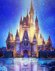 Belle Dragon 5D diamond painting square  round diamond embroidery mosaic Castle diamond picture art home decoration