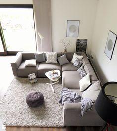 Salon w stylu skandynawskim. - zdjęcie od remika2