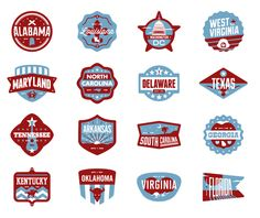 South Badges