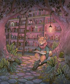 nimasprout - Art by Nicole Gustafsson: Fantastical Flora and Fauna exhbit at Gallery Nucleus