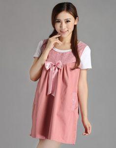 Radiation-free Dress Colour: pink/light shiny pink ribbon