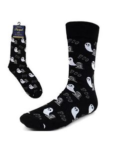 Life Is Too Short To Wear Boring Socks! Halloween Socks, Halloween Ghosts, Novelty Socks, Crew Socks, Shorts, Horror, How To Wear, Size 10, Spandex