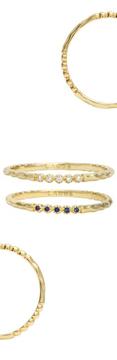 18k Gold Covet Rings | LAGOS.com