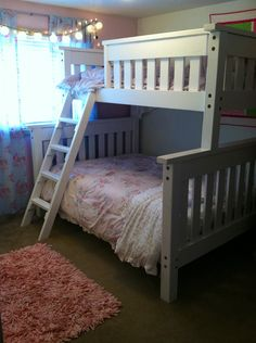 Twin over Full for my Girls!   Do It Yourself Home Projects from Ana White