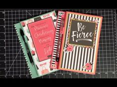 Legal Pad Journal Gift Idea – Maymay Made It 3d Paper Projects, Paper Crafts, Note Holders, Card Holders, Journal Covers, Journal Art, Junk Journal, Journal Ideas, Mini Album Tutorial