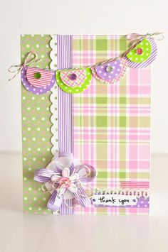 Queen and Company Cards with baker's Twine and Washi Tape.  10 different cards.