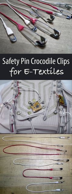 Don't damage clothing with traditional crocodile clips.