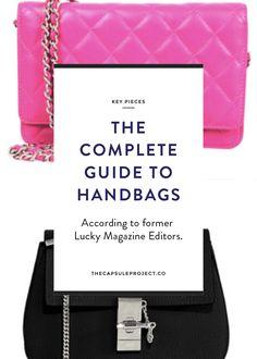 All the handbags you need!