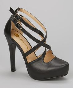 Look at this #zulilyfind! Black Diana Pump by Chase  Chloe #zulilyfinds