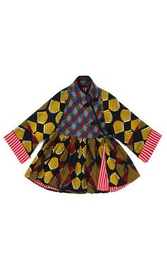 Onaedo Wax Jacket by Stella Jean - I owe something similar from portobello market :-)