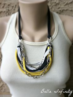 Bella Infinity ChainLink NeckBling SIlver by BellaInfinityScarves, $25.00 www.facebook.com/infinity0512