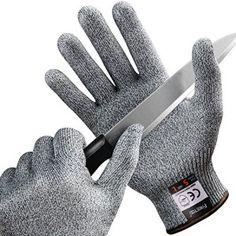 [Gants Anti-coupure] FREETOO Gants de Cuisine Résistant Gants de Protection des Mains en Haute Performance et Durable, Légère,Antidérapant…