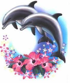 dessins de dauphins
