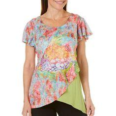 8951172aca2 Leoma Lovegrove Womens Trigger Colorblock Top