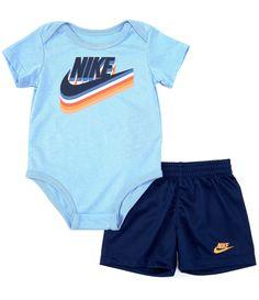 Baby Boy Newborn, Dillards, Elastic Waist, Envelope, Gym Shorts Womens, Bodysuit, Short Sleeves, Neckline, Nike