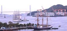 나가사키현 : 2017 나가사키 범전축제 드디어 개막 2017長崎帆船まつり」