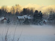 talvista kylää