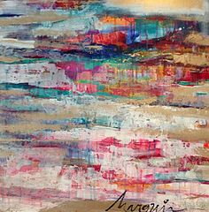 Ice Marsh | Marquin Designs | $245 | 24x24 #marquindesigns #abstractart #icemarsh